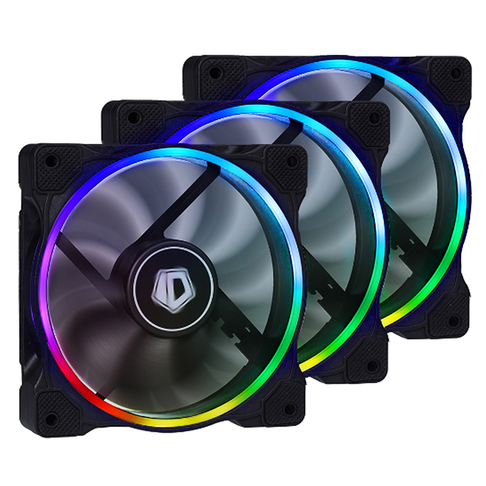ID-COOLING ZF-12025 RGB TRIO (3PACK/REMOTE CONTROL)