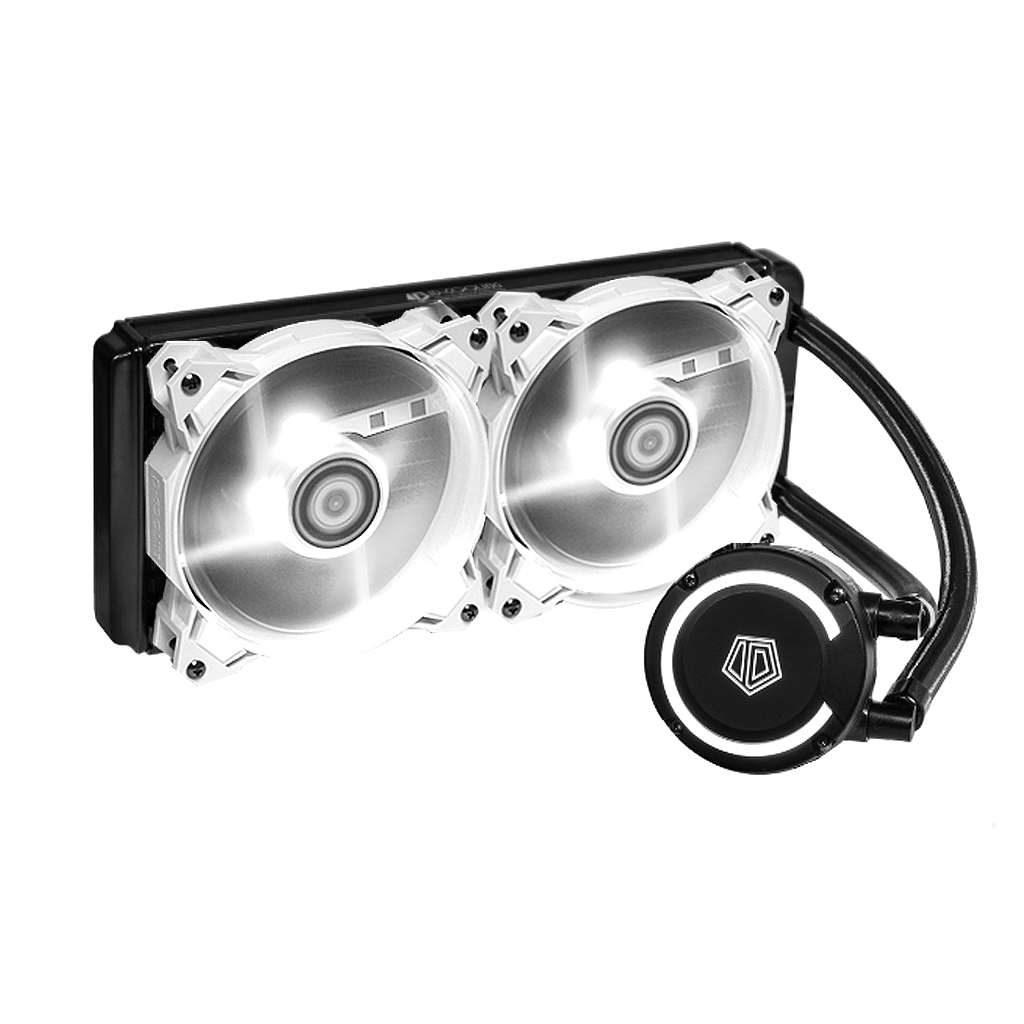 ID-COOLING FROSTFLOW PLUS 240 WHITE LED